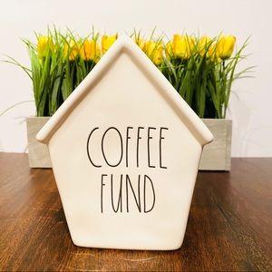 ⭐️NEW- Rae Dunn. COFFEE FUND coin bank